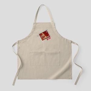 Merry Kitschmas Stamp BBQ Apron
