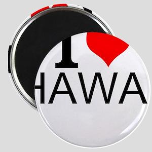I Love Hawaii Magnets