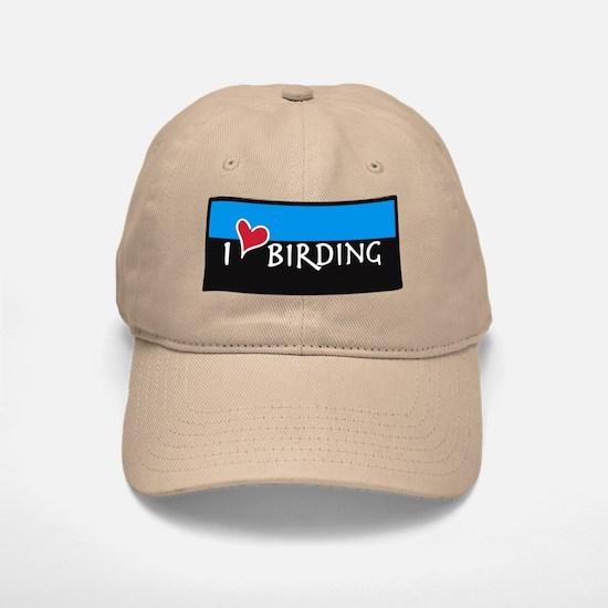"""""""I Love Birding"""" BIRDER Baseball Baseball Cap"""