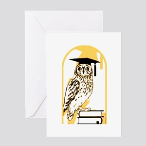 Smart Owl 5 Greeting Card