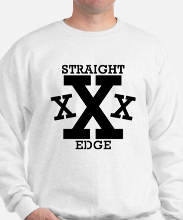 Funny Straight edge Sweatshirt