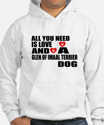 All You Need Is Love Glen of Ima Hoodie
