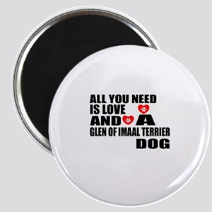 All You Need Is Love Glen of Imaal Terrier Magnet