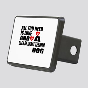 All You Need Is Love Glen Rectangular Hitch Cover