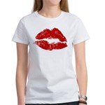 Lipstick Kiss Women's T-Shirt