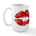 Lipstick Kiss Large Mug