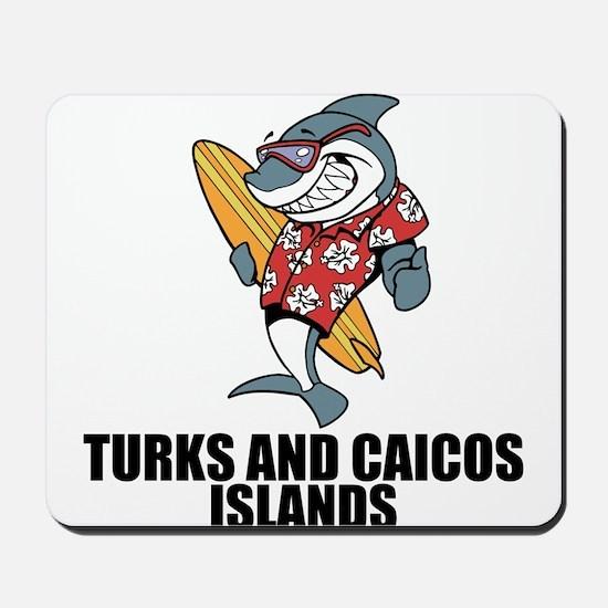 Turks And Caicos Islands Mousepad