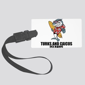Turks And Caicos Islands Luggage Tag