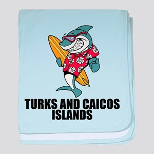 Turks And Caicos Islands baby blanket
