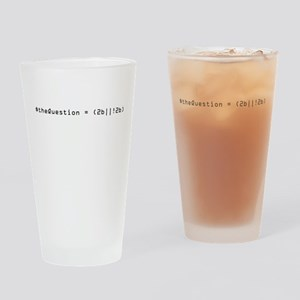 Shakespeare Meets PHP Drinking Glass