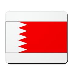 Bahrain Blank Flag Mousepad