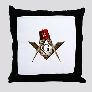 Shrine Mason Throw Pillow