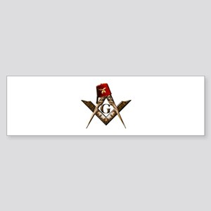 Shrine Mason Bumper Sticker