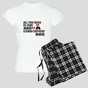 All You Need Is Love German Women's Light Pajamas