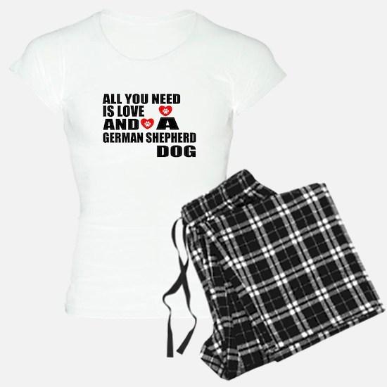 All You Need Is Love German Pajamas