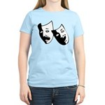 Drama Masks Women's Light T-Shirt