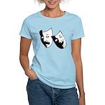 Drama Masks Women's Light T-Shirt