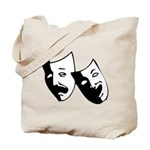Drama Masks Tote Bag