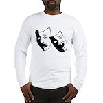 Drama Masks Long Sleeve T-Shirt