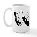 Drama Masks Large Mug