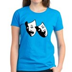 Drama Masks Women's Dark T-Shirt