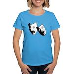 Drama Masks Women's Dark T-Shirt