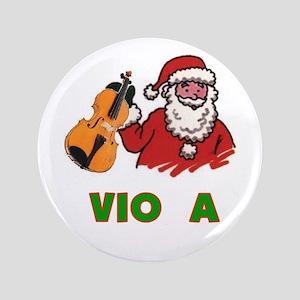 """Santa Noel Viola 3.5"""" Button"""