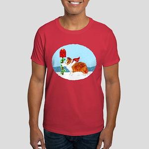 Sable Sheltie Mail Dark T-Shirt