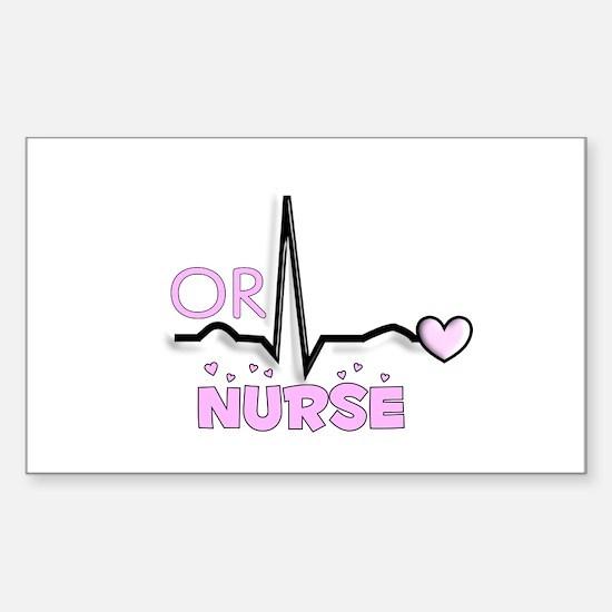 Registered Nurse Specialtie Decal