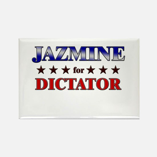 JAZMINE for dictator Rectangle Magnet