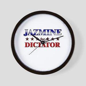 JAZMINE for dictator Wall Clock