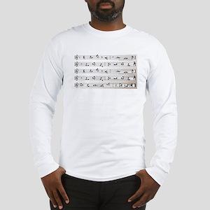 Kama Sutra Music Notes Long Sleeve T-Shirt