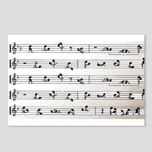 Kama Sutra Music Notes Postcards (Package of 8)
