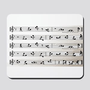 Kama Sutra Music Notes Mousepad