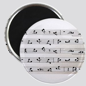 Kama Sutra Music Notes Magnet
