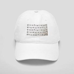 Kama Sutra Music Notes Cap
