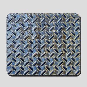 Blue Diamonds texture Mousepad