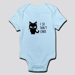 I So Don't Care Body Suit