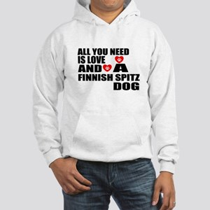 All You Need Is Love Finnish Spi Hooded Sweatshirt