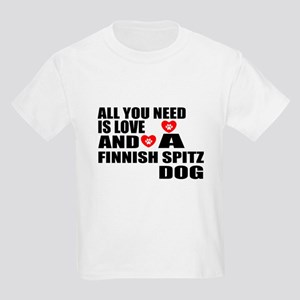 All You Need Is Love Finnish Sp Kids Light T-Shirt