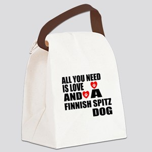 All You Need Is Love Finnish Spit Canvas Lunch Bag
