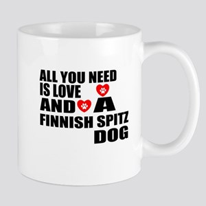 All You Need Is Love Finnish Spi 11 oz Ceramic Mug