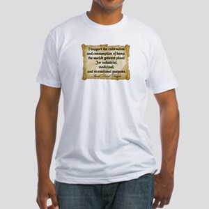 """""""Stank Dank...I support..."""" Fitted T-Shirt"""