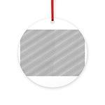 Optical Illusion Ornament (Round)