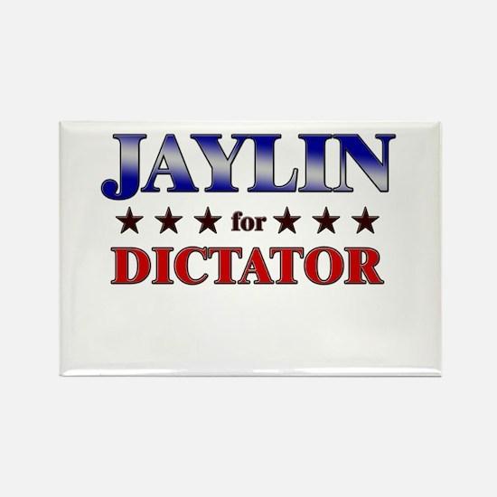 JAYLIN for dictator Rectangle Magnet