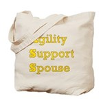 Agility Support Spouse Tote Bag