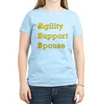 Agility Support Spouse Women's Light T-Shirt