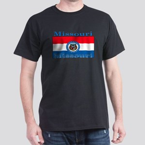 Missouri State Flag Dark T-Shirt