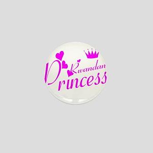 Rwandan princess Mini Button