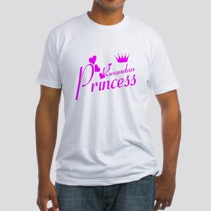 Rwandan princess Fitted T-Shirt